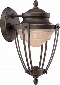 nuvo lighting 62 691 62 691 1 light 17w led mahogany. Black Bedroom Furniture Sets. Home Design Ideas