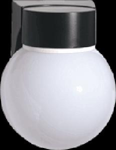 Rab Lighting Vc100pb Vaporproof 100 Ceiling Decorative With White Ball Gl Iqlighting